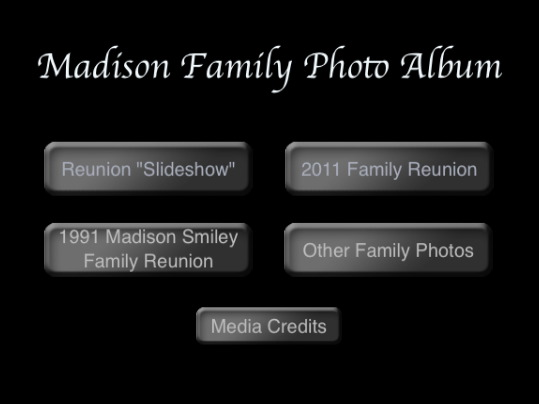 Madison Family Photo Album