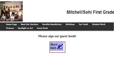 Link to Class Guest Book