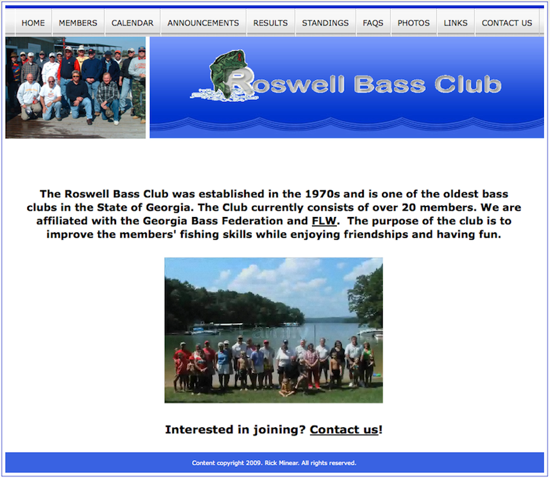 Roswell Bass Club